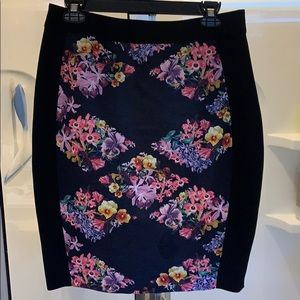 High waisted Ted Baker skirt